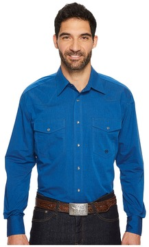 Roper 1257 Black Fill - Blue Men's Clothing