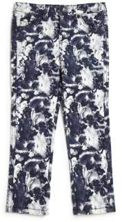 7 For All Mankind Little Girl's Floral-Print Jeans