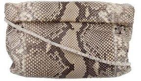 Carlos Falchi Snakeskin Drawstring Bag