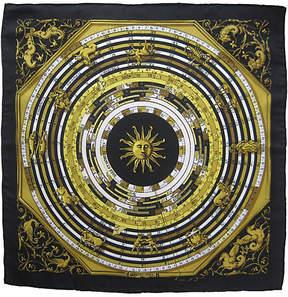 One Kings Lane Vintage Hermès Astrologie Pochette Scarf