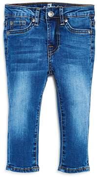 7 For All Mankind Boys' Medium-Wash Slim Straight-Leg Jeans - Baby
