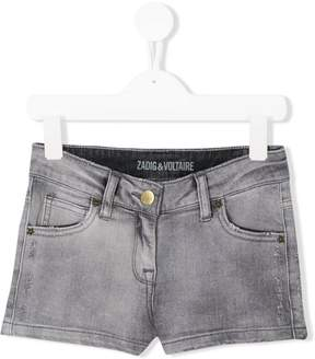 Zadig & Voltaire Kids casual denim shorts
