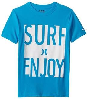 Hurley Surf and Enjoy Tee Boy's T Shirt