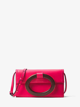 Michael Kors Baxter French Calf Clutch - PINK - STYLE