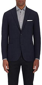 Boglioli Men's K2 Plaid Wool-Cashmere Two-Button Sportcoat