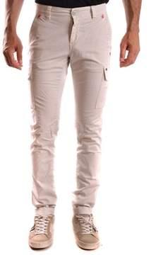 Mason Men's Beige Cotton Pants.