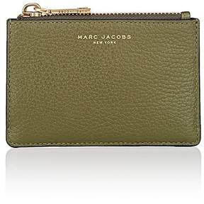 Marc Jacobs Women's Top-Zip Wallet - GREEN - STYLE