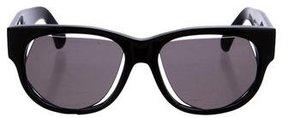 Maison Margiela Cut Out Square Sunglasses