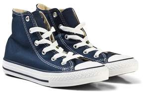 Converse Navy Chuck Taylor All Star High Top Trainers