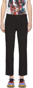 Comme des Garcons Black Tropical Garment Trousers