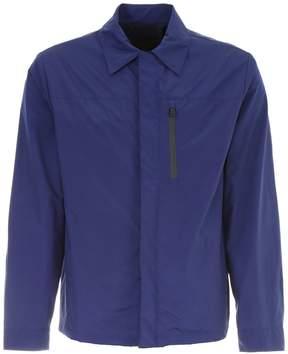 Prada Linea Rossa Canvas Shirt Jacket