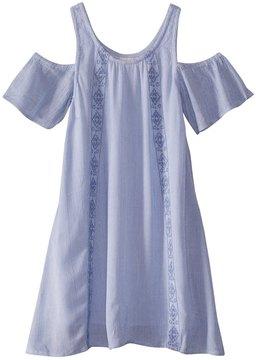 O'Neill Girls' Arie Cold Shoulder Dress (Big Kid) 8168231