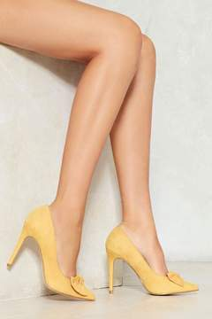Nasty Gal nastygal Search High and Bow Heel