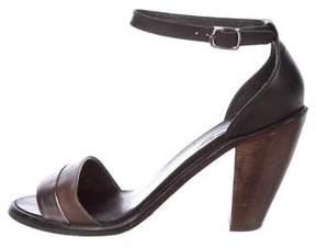 Rachel Comey Leather Ankle-Strap Sandals