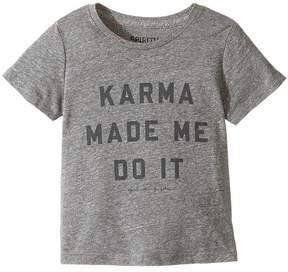 Spiritual Gangster Kids Karma Made Me Do It Tee Kid's T Shirt