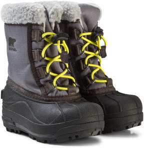 Sorel Childrens Cumberland City Grey Boots