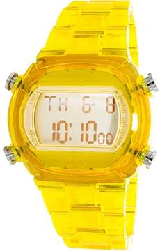 adidas Candy Multi-Function Digital Dial Yellow Plastic