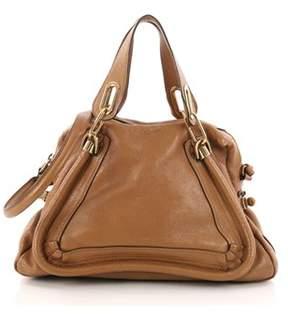 Chloé Pre-owned: Paraty Top Handle Bag Leather Medium.