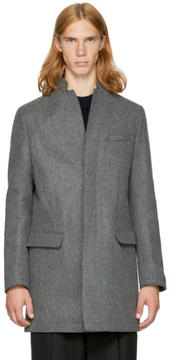 TOMORROWLAND Grey Wool Coat