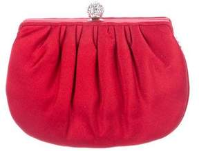 Judith Leiber Satin Evening Bag