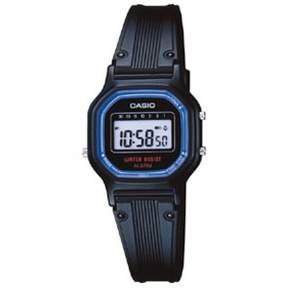 Casio Women's Daily Alarm Digital Watch, Black