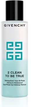 Givenchy 2 CLEAN TO BE TRUE Intense & Waterproof Dual-Phase Eye Makeup Remover/4 oz.