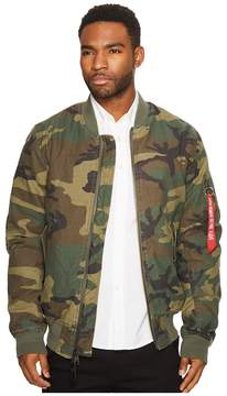 Alpha Industries MA-1 Slim Cotton Jacket Men's Coat