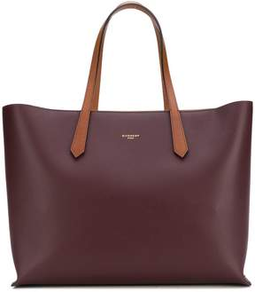 Givenchy embossed logo tote