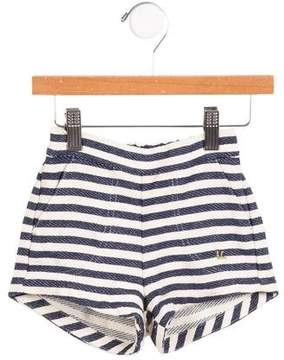 Bobo Choses Girls' Striped Shorts