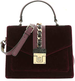 Aldo Women's Macon Velvet Satchel