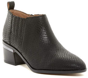 Franco Sarto Aberdale Snake Embossed Bootie