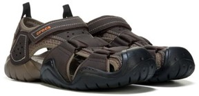 Crocs Men's Swiftwater Leather Sandal