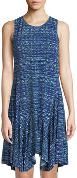 Cynthia Steffe Cece By Colorful Highlight Handkerchief Dress
