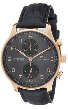 IWC Men's Portuguese Chronograph Watch.