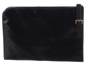 Saint Laurent Leather Document Holder