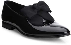 Versace Men's Bow Trimmed Dress Shoe