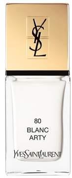 Yves Saint Laurent 'La Laque Couture' Nail Lacquer - 80 Blanc Arty