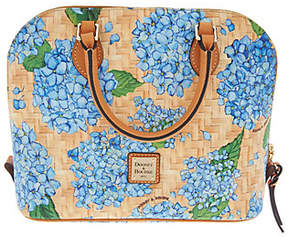 Dooney & Bourke Hydrangea Basket Weave Zip ZipSatchel Handbag - ONE COLOR - STYLE