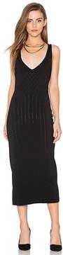 Finders Keepers Titanium Midi Dress