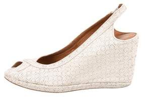 Dries Van Noten Slingback Wedge Sandals
