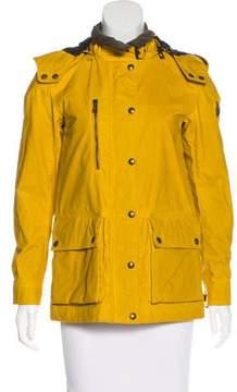 Belstaff Hooded Coated Jacket