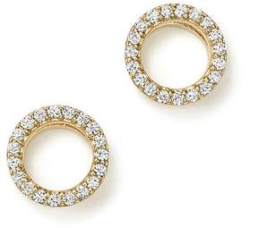 Bloomingdale's Diamond Circle Stud Earrings in 14K Yellow Gold, .20 ct. t.w. - 100% Exclusive