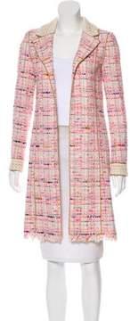 Chanel Knee-Length Tweed Coat