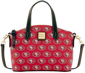 Dooney & Bourke San Francisco 49ers Ruby Mini Satchel Crossbody - RED - STYLE