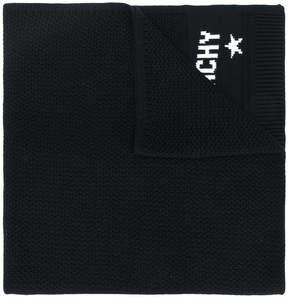 Givenchy woven logo scarf