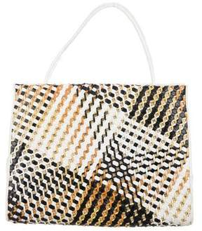 Nancy Gonzalez Crocodile Patchwork Tote