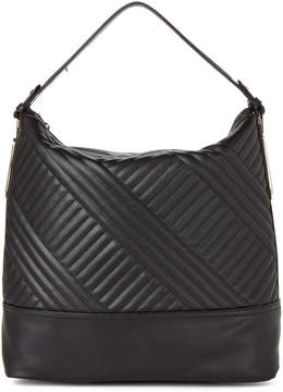Jessica Simpson Black Ryanne Quilt Hobo Bag
