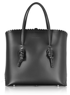 Coccinelle Women's Black Leather Tote.