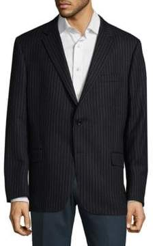Hickey Freeman Pinstripe Wool Jacket