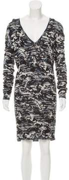 Matthew Williamson Patterned Bodycon Dress